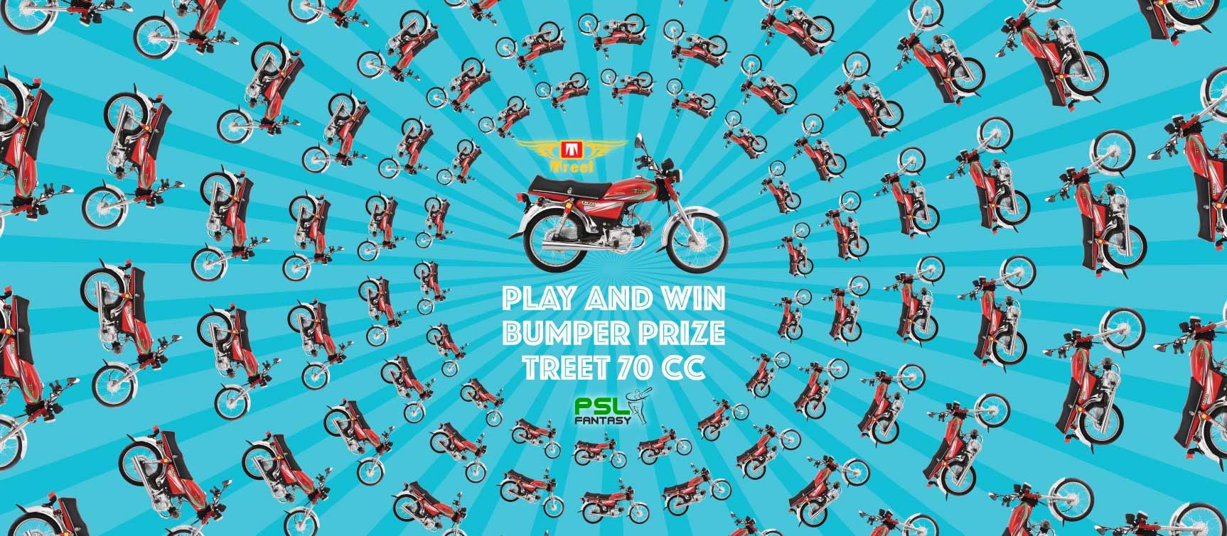 Treet bike prize