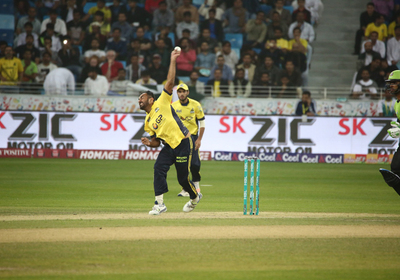 Wahab proving a case with his pace - PSL Zalmis
