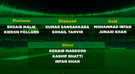 Multan Sultans pick nine players from multiple categories